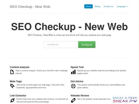 Seo New Web