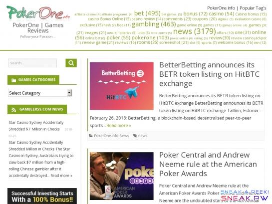 PokerOne.info